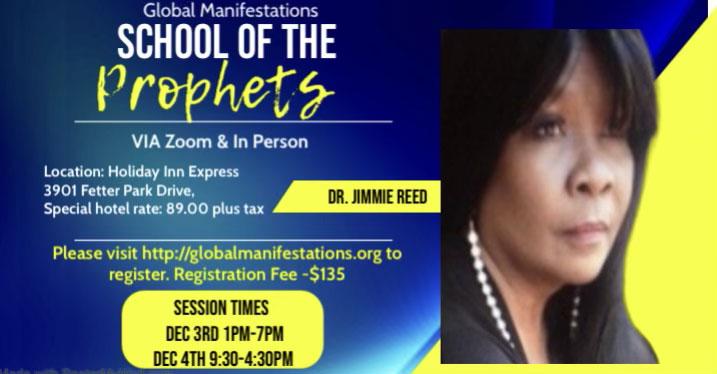 School of the Prophets Flyer